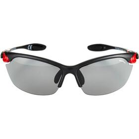 Alpina Twist Three 2.0 VL Brille black matt-red